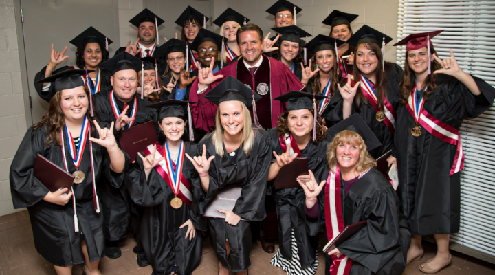 ITP 2014 Graduating Class with President Benson